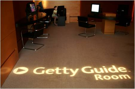 Dedicated Getty Guide Room