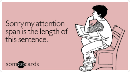 attention span length